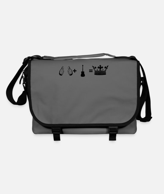 Guitar Bags & Backpacks - gift i plus hobby king guitar guitar acoust - Shoulder Bag graphite/black