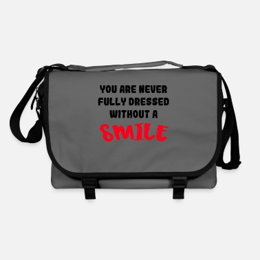 Adult Not dressed without a smile 001 - Shoulder Bag