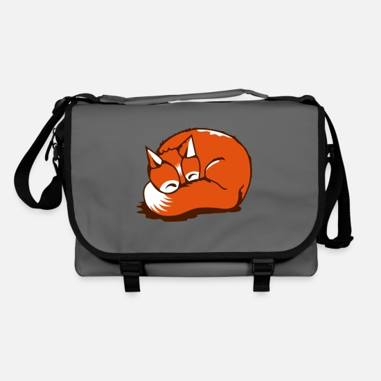 Bestsellers Q4 2018 Bags & Backpacks - A sleeping fox - Shoulder Bag graphite/black