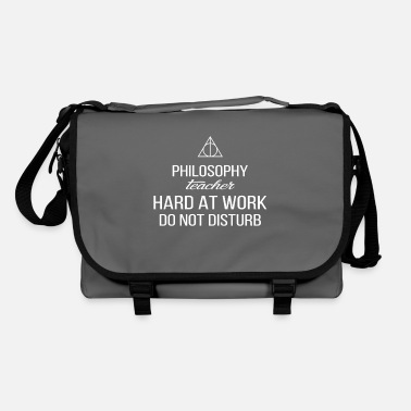 Philosophy Philosophy Teacher - Philosophy teacher hard at - Shoulder Bag