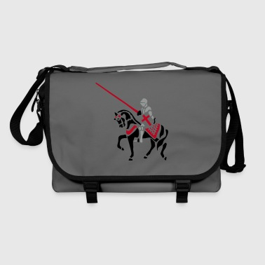 Jousting Knight medieval patjila - Shoulder Bag