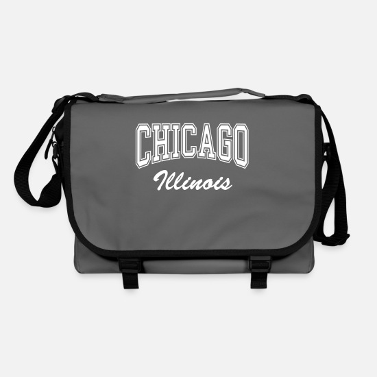 Chicago Bags & Backpacks - Chicago Illinois - Shoulder Bag graphite/black