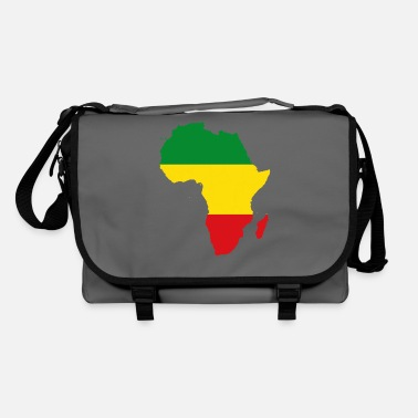 Rasta Africa Map Reggae Rasta Rastafari Ragga Regge - Shoulder Bag