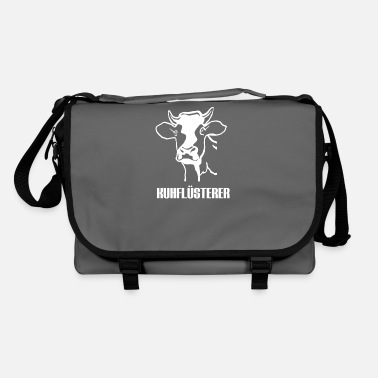 Cow Skull Cow whisperer cow skull farmer - Shoulder Bag
