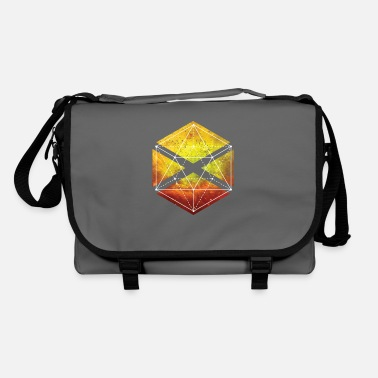 Sacred Geometry Sacred Geometry - Icosahedron Graphic - Shoulder Bag