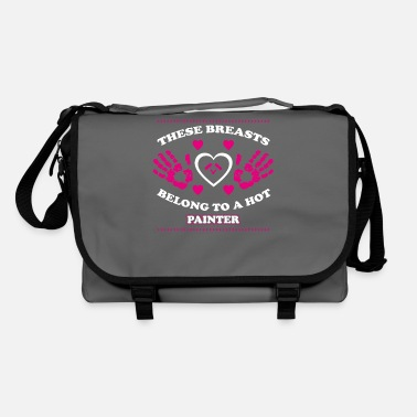 PAINTER best mom mum sayings gift mother - Shoulder Bag