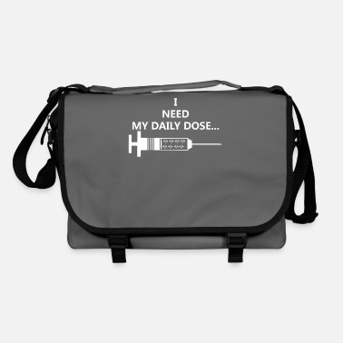 PAIN drug addicted syringe addicted vocation li - Shoulder Bag