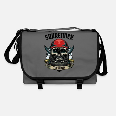 Buccaneer Surrender The Booty Pirate Skull Pirate Gift - Shoulder Bag