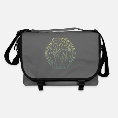 Worker Forest abstract - Shoulder Bag
