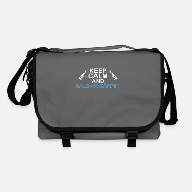 Keep Calm Underwear keep calm and Kalsarikännit - Shoulder Bag