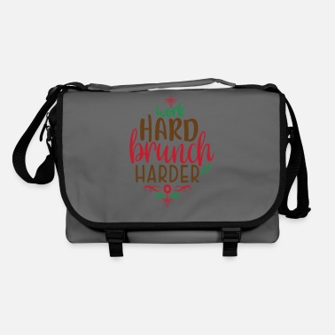 Claus Work hard brunch harder - Shoulder Bag