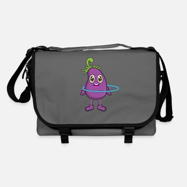Comics Eggplant Vegetable Sports Yoga Mature - Shoulder Bag