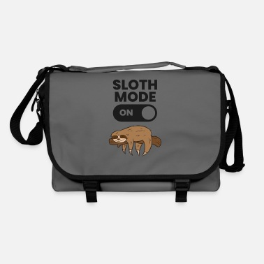 Tired Lazy Sloth Tired Sloth Funny Sloth Mode On - Shoulder Bag