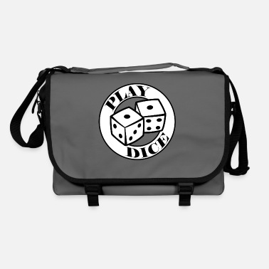 Dice Play Dice - Dice Dice Game Dice Club - Shoulder Bag