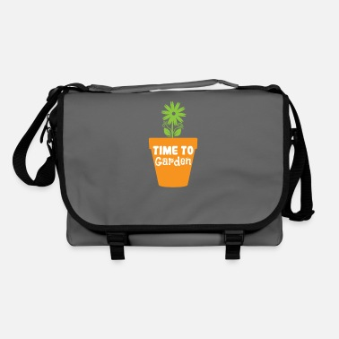 Earth Day Time to Garden - Shoulder Bag
