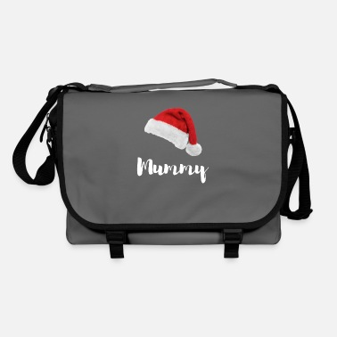 Weichnachten Santa hat - MUMMY / Weichnachten / Christmas - Shoulder Bag