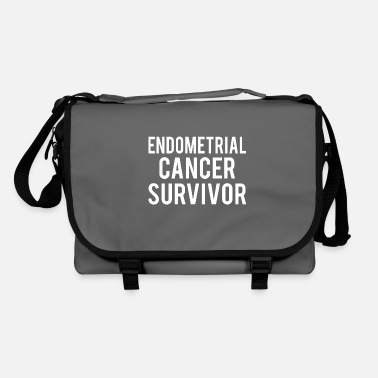 Endometrial Cancer Awareness Endometrial Cancer: Endometrial Cancer Survivor - Shoulder Bag