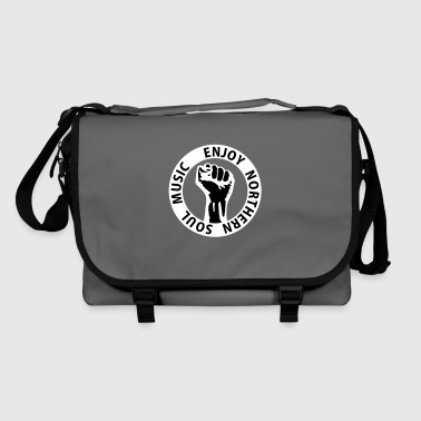 2 colors - Enjoy Northern Soul Music - nighter keep the faith - Shoulder Bag