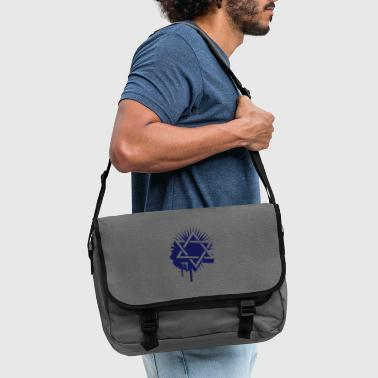 Star of David graffiti - Shoulder Bag