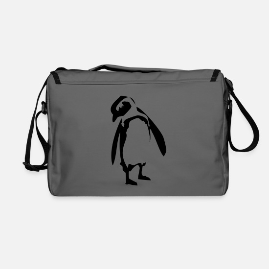 Penguin Bags & Backpacks - Pinguin - Shoulder Bag graphite/black