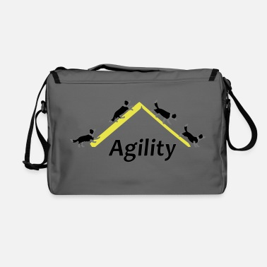 Border Collie Agility 4x Border Collie - Shoulder Bag