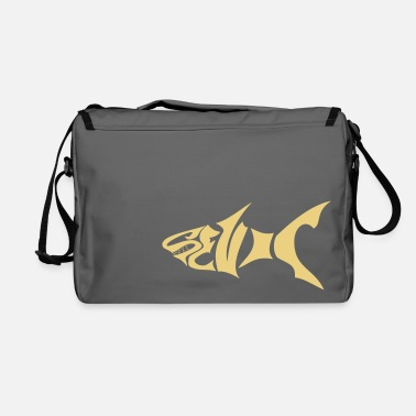 Dents Requin Noir  Dents - Shoulder Bag
