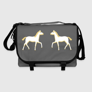 two foals - Shoulder Bag