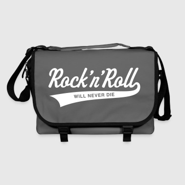 Rock 'n' Roll will never die - Shoulder Bag