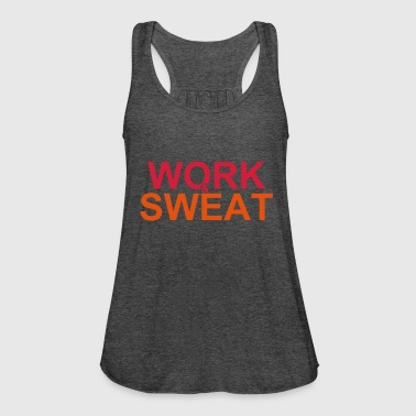 Work and Sweat - Frauen Tank Top von Bella
