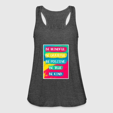 Be Mindful - Women's Tank Top by Bella