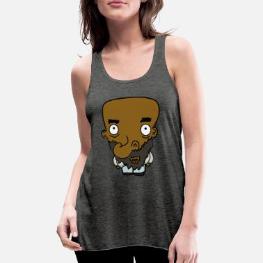 Cartoon Characters cartoon character - Women's Flowy Tank Top