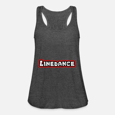 Countrymusic Linedance, western, countrymusic, gift, funny, - Women's Flowy Tank Top