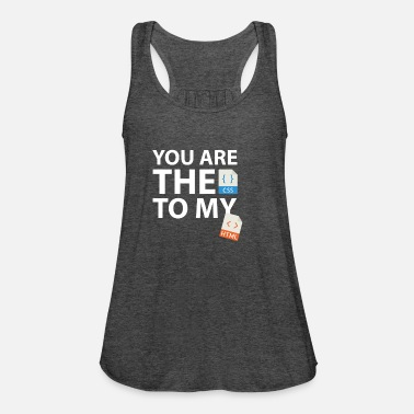 Geek You are the CSS to my HTML - Women's Tank Top by Bella