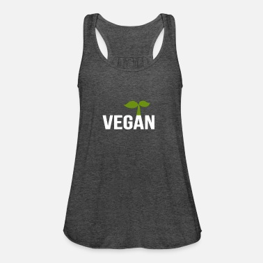 Vegan - Women's Flowy Tank Top