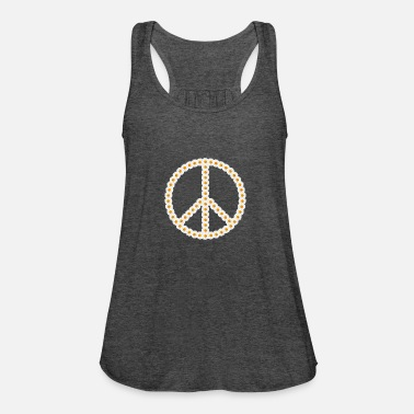 Marguerite Flowers Peace Peace Sign Marguerite Marguerite - Women's Flowy Tank Top