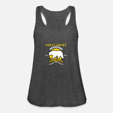 National Great Smoky Mountains Tennessee EST 1934 Bär kühl - Frauen Flowy Tanktop