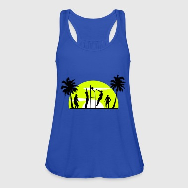 beach volleyball, volleyball  - Women's Tank Top by Bella