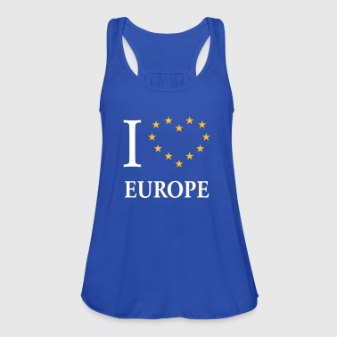I Love Europe / I Heart Europe (Europa) - Top da donna della marca Bella