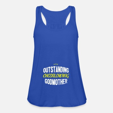 Cheerleading Distressed - OUTSTANDING CHEERLEADING GODMOTHER - Women's Tank Top by Bella