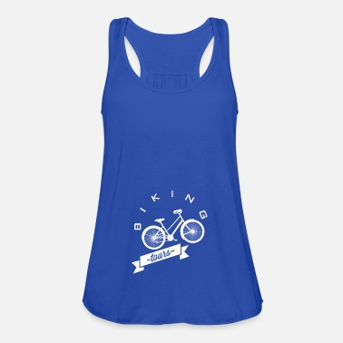 Tour Bike Tours - Bike Tours - Women's Tank Top by Bella