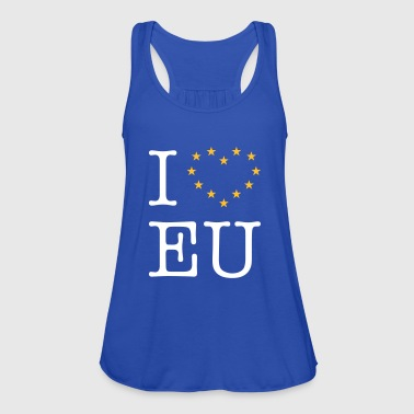 Eu I Love EU (Europe) - Women's Tank Top by Bella