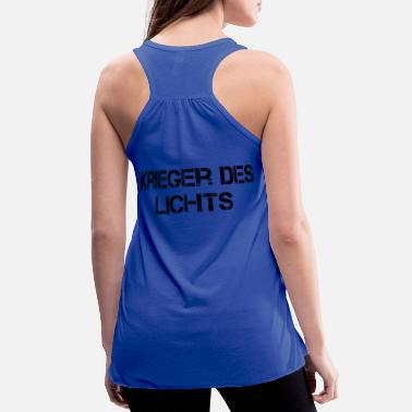 Black Light Warrior of Light black - Women's Flowy Tank Top