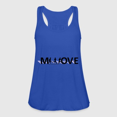 Move - Women's Tank Top by Bella