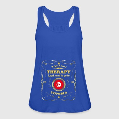 DON T NEED THERAPY GO TO TUNISIA - Women's Tank Top by Bella