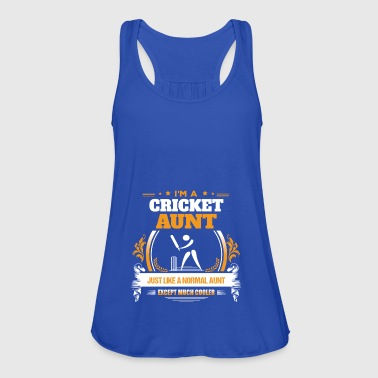 Cricket Aunt Aunt Shirt Gift Idea - Women's Tank Top by Bella