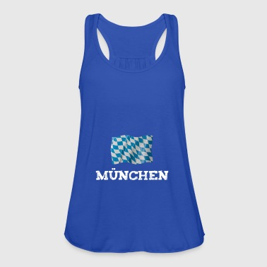 munich munich flag bavaria - Women's Tank Top by Bella