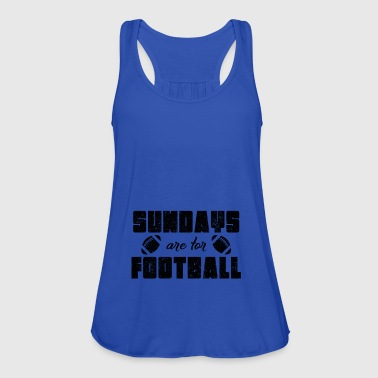 amarican football sunday - Women's Tank Top by Bella