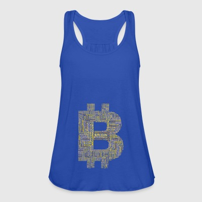 bitcoin gold typo blockchain crypto currency intern - Women's Tank Top by Bella
