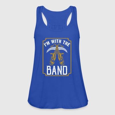 I with the Band Saxophone instrumentet - Singlet for kvinner fra Bella