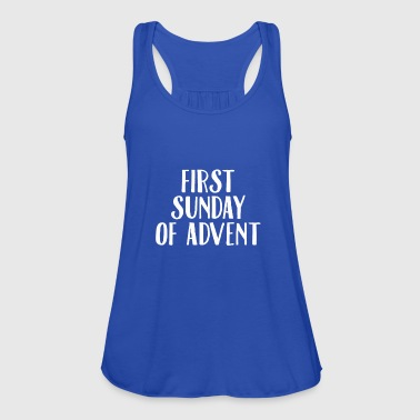First Sunday Of Advent Christmas Season Countdown - Women's Tank Top by Bella